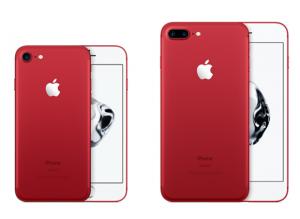 赤いiPhone7